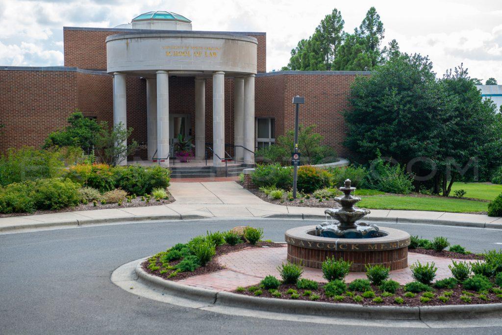 Front of law school