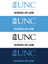 UNC Law Logos Vertical