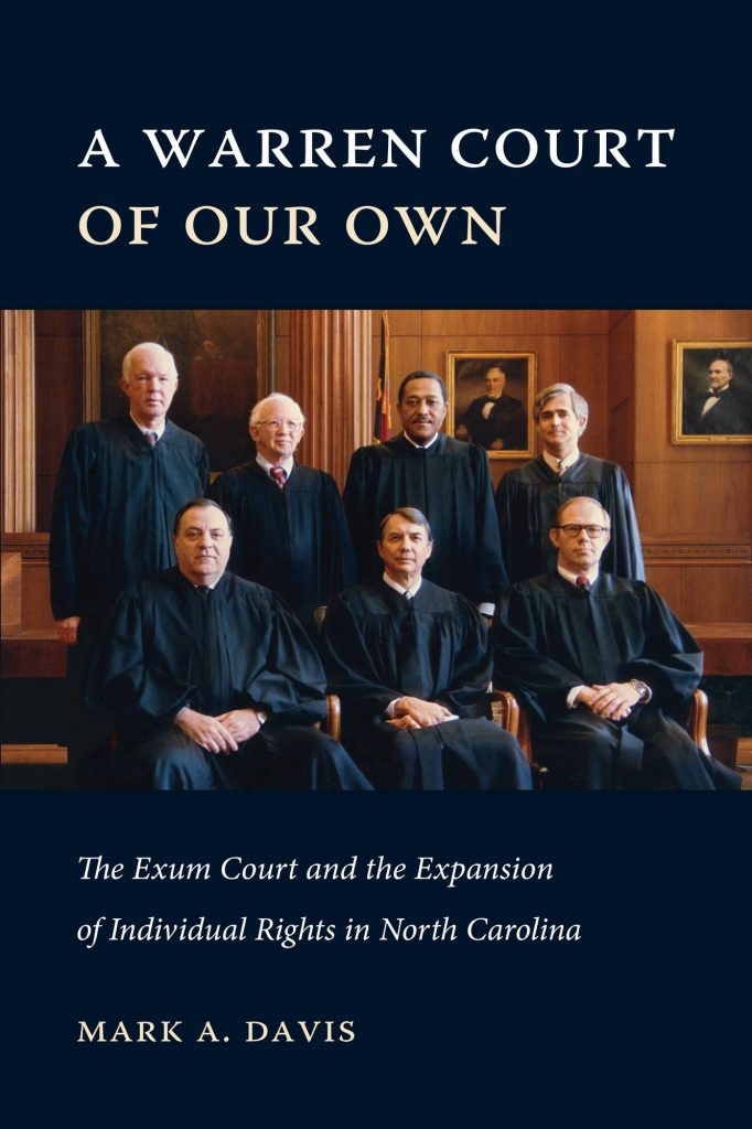 A Warren Court of Our Own book cover